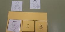 Material para realizar secuencias de 3 imagenes