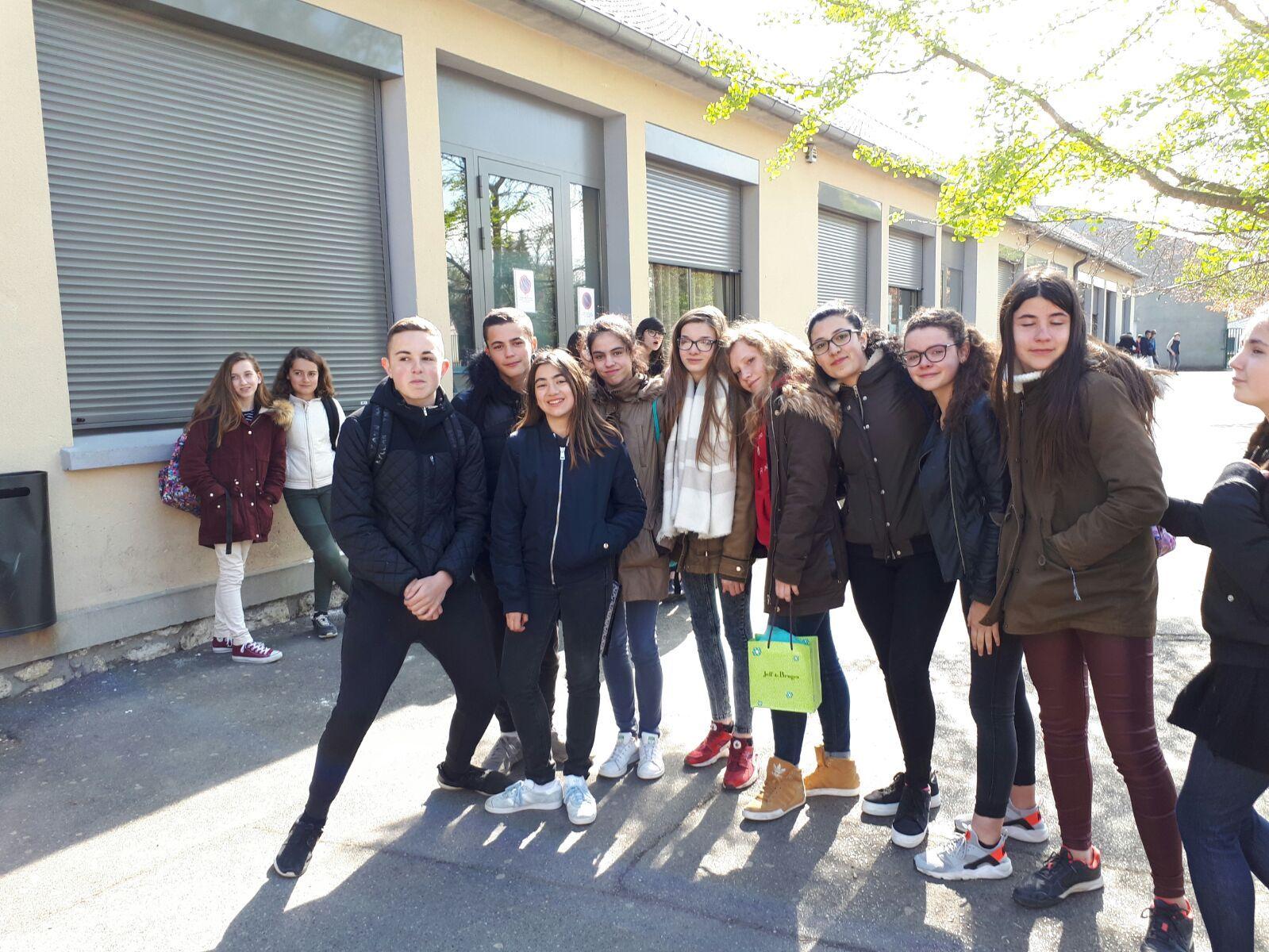 Intercambio Collège les Remparts. Abril 2017 11