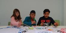 Los alumnos de 6º de Primaria preparan el carnaval 5