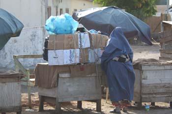 A por agua, Rep. de Djibouti, áfrica
