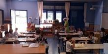 Primer día de comedor en Educación Infantil