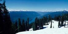 Vista panorámica de las Montañas Rocosas
