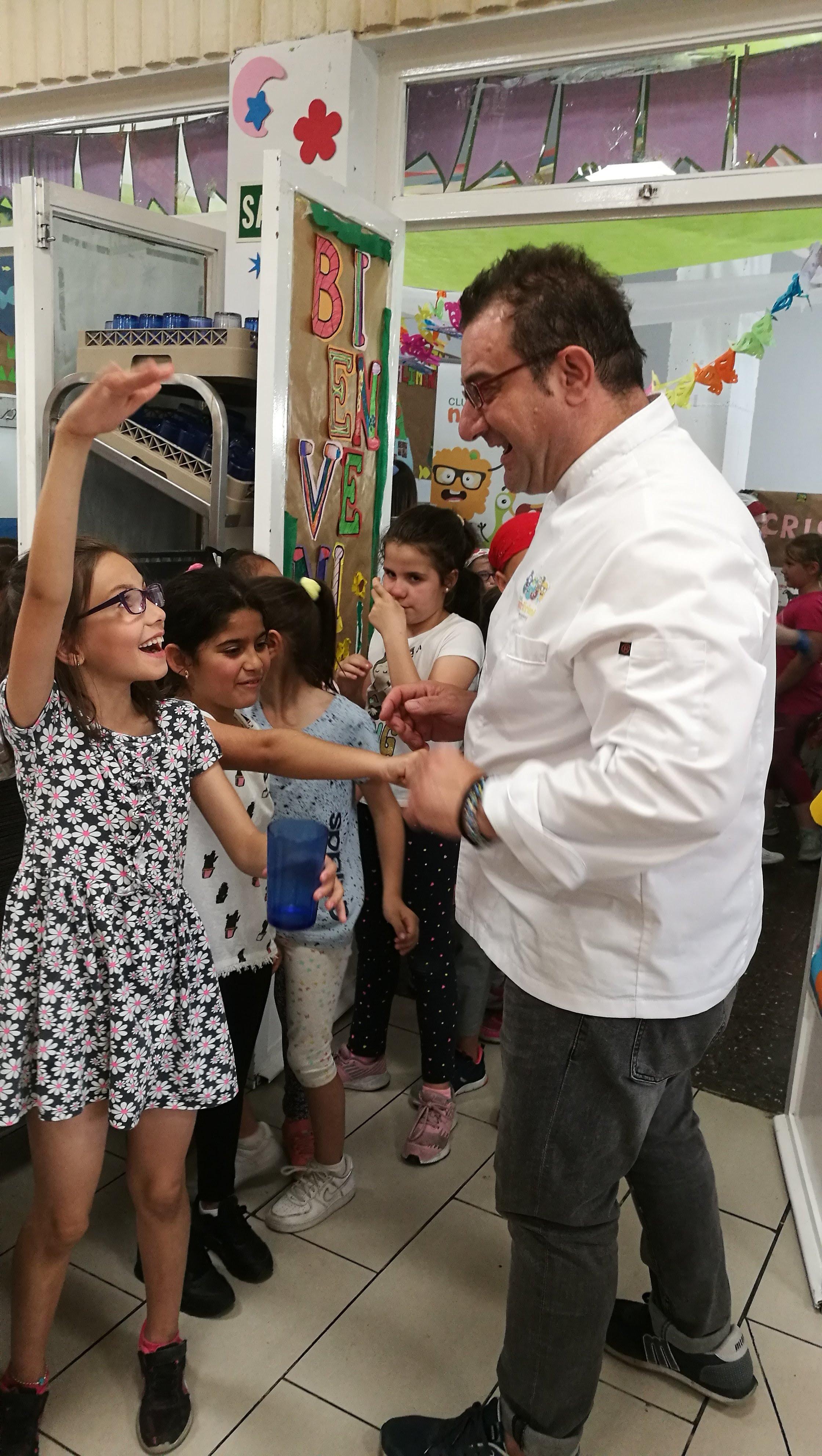 Visita del chef Sergio Fernández - Nutrifriends en el Comedor 9