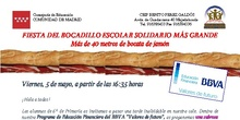 Circular informativa de la Fiesta del Bocadillo Solidario