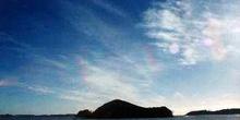 Amanecer en Bahía de Islas, Nueva Zelanda