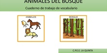 ANIMALES DEL BOSQUE VOCABULARIO