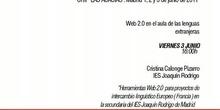 Herramientas Web 2.0 para proyectos de intercambio lingüístico europeo (Francia) en el IES Joaquín Rodrigo
