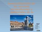 Aprovechamiento de los recursos socioculturales y ambientales de la zona este