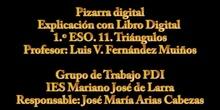Matemáticas: Libro Digital con Pizarra Digital 1º ESO, Luis con alumnos