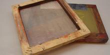 Pantalla de madera