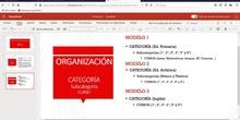 Aula Virtual - Organización del Aula Virtual