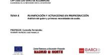 TEMA 8. Preproducción sonido directo cine pdf