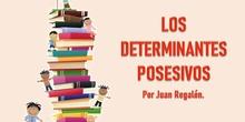 LOS DETERMINANTES POSESIVOS, POR JUAN REGALÓN