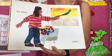 EL ARTISTA QUE PINTÓ UN CABALLO AZUL - INFANTIL 3 AÑOS A SEVERO OCHOA