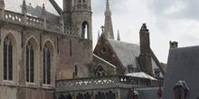 The Burg, con la Basílica de la Santa Sangre, Brujas, Bélgica