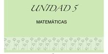 UNIDAD 5 matemáticas - Freya M.M,