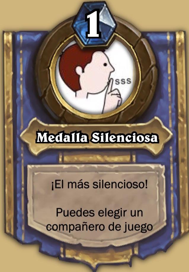 Medalla Silenciosa