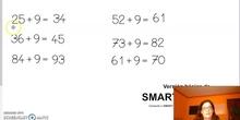 Cálculo mental: Sumar 9 a un número