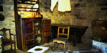 Casa de campesinos (s.XIX): Mobiliario diverso., Museo del Puebl