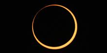 Fase central del eclipse anular 09