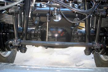 Vehículos industriales. Puente trasero  de suspensión mecánica c