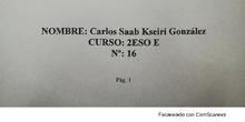 Proyecto investigación sobre aguas embotelladas Carlos Saab