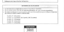 modelo examen lengua castellana