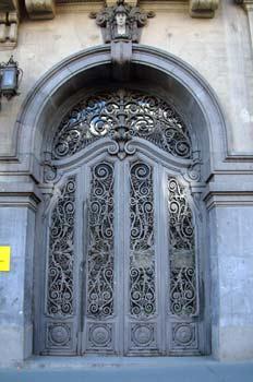 Puerta del Ministerio de Educación y Ciencia, Madrid