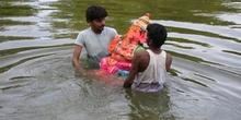 Immersión del dios Ganesha