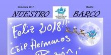"""Revista """"Nuestro Barco"""". CEIP Hermanos Pinzón. Diciembre 2017"""