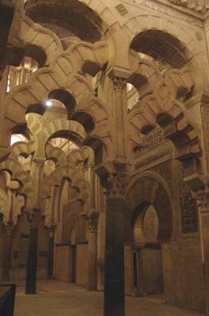 Arcos lobulados de la Catedral de Córdoba, Andalucía