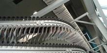Final del proceso de impresión de prensa periódica