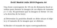 EvAU Madrid Julio 2019 Pregunta A4