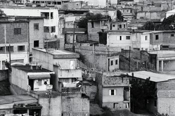 Chabolas, Favela Horizonte Azul, Sao Paulo, Brasil