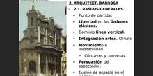 10.2. La arquitectura barroca