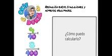 PRIMARIA - 6º - FRACCIONES Y NÚMEROS DECIMALES - MATEMÁTICAS - FORMACIÓN