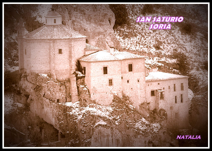 San Saturio, Soria