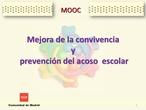 CURSO MOOC CONVIVENCIA ESCOLAR II