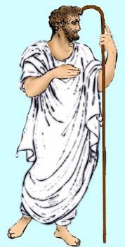 Atuendo masculino de la Grecia clásica