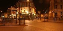 Pub inglés de noche