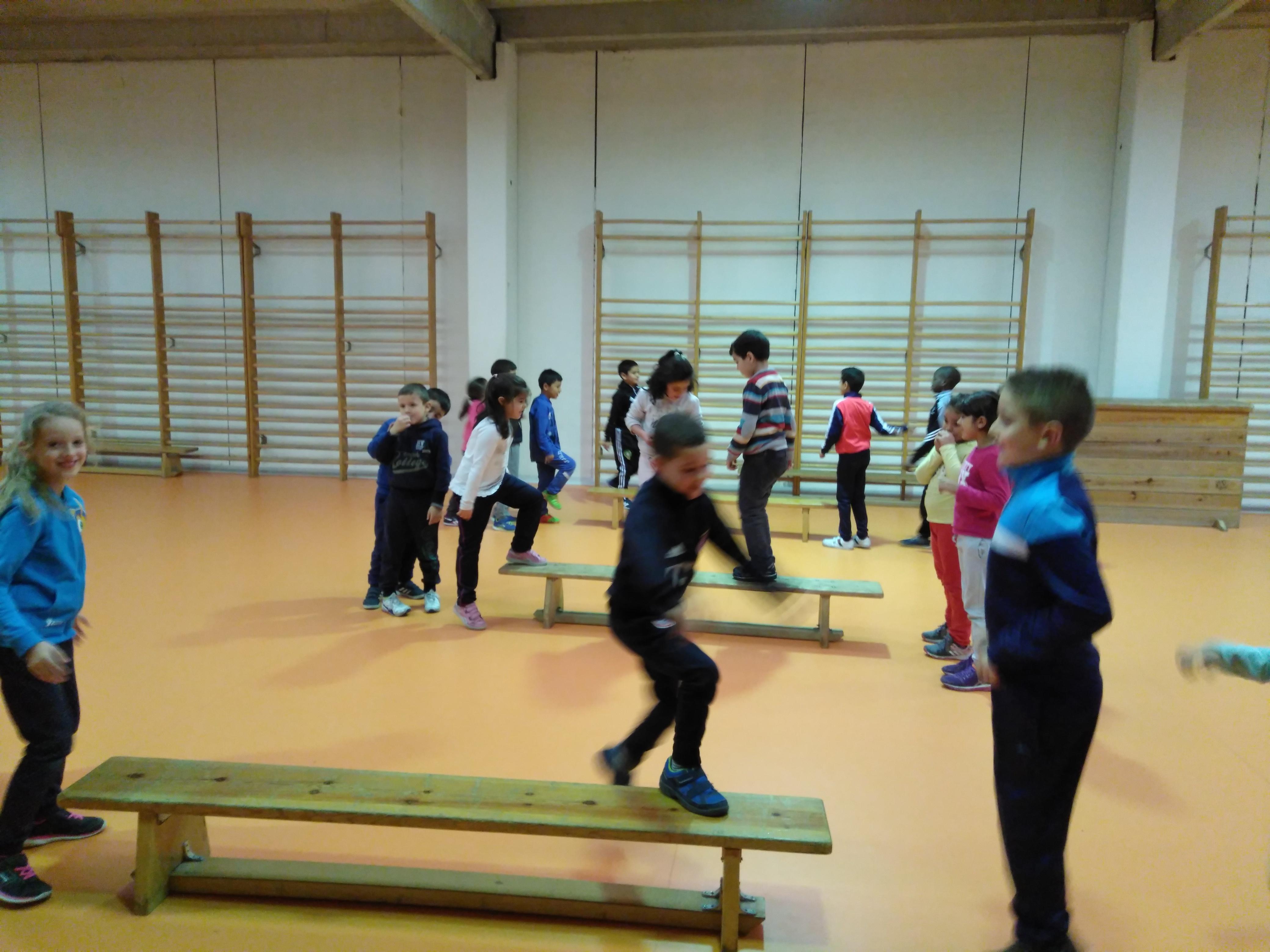 Convivencia en Educación física 4