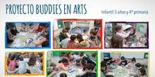 Proyecto Buddies en arts 3 años y 4º (febrero 2018)