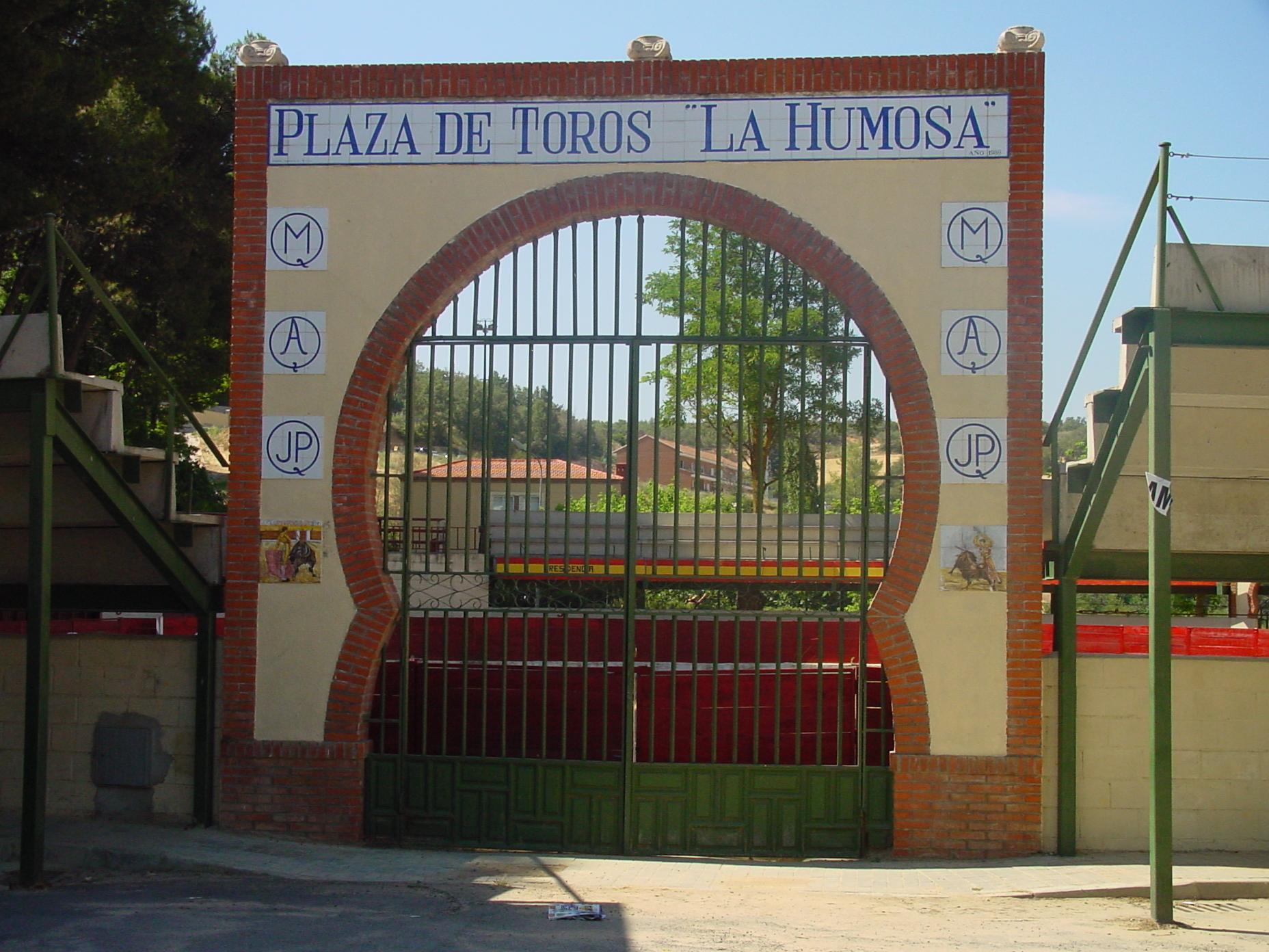 Plaza de toros de Los Santos de la Humosa