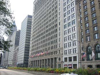 Edificio Oficial en Chicago, Estados Unidos