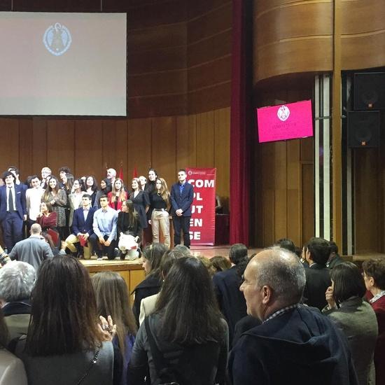 Reconocimiento Académico UCM a nuestro alumno Alex Nita  y al Caustro de profesores del IES Francisco de Quevedo10