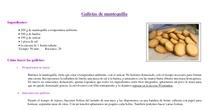 """Receta """"Galletas de mantequilla"""""""