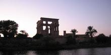 Philae al anochecer, Egipto