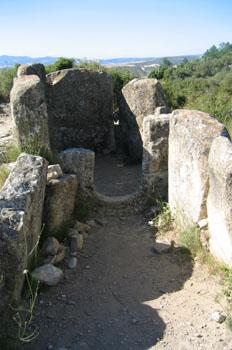 Dolmen del Portillo de Enériz, Artajona, Navarra