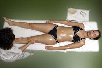 Masaje de Sales: extremidades inferiores: Tendido supino