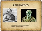 Arquímedes 1ºAC - Grupo 3